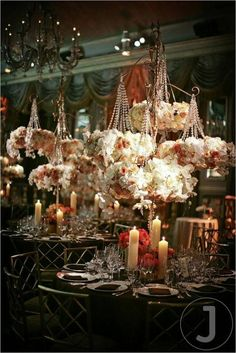 www.serenity-weddings.com Hanging Flowers, Blush, Pink, Wedding