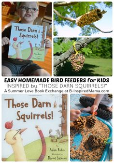 Easy Homemade Bird Feeders For Kids