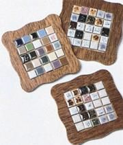 projects design unique coasters. DIY  Ceramic Tile Coasters For the Home Pinterest coasters and
