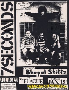 7 Seconds w/ Bhopal Stiffs 7 Seconds, Punk Rock, Flyers, Rock N Roll, Posts, Music, Musica, Ruffles, Messages