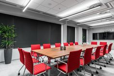 Trzop Architekci with Mikomax Smart Office has designed the offices for a global management consulting firm located in Katowice, Poland. The space Office Smart Office, Open Office, Office Furniture, Outdoor Furniture Sets, Rectangle Table, Consulting Firms, Office Interiors, Lighting Design, Offices