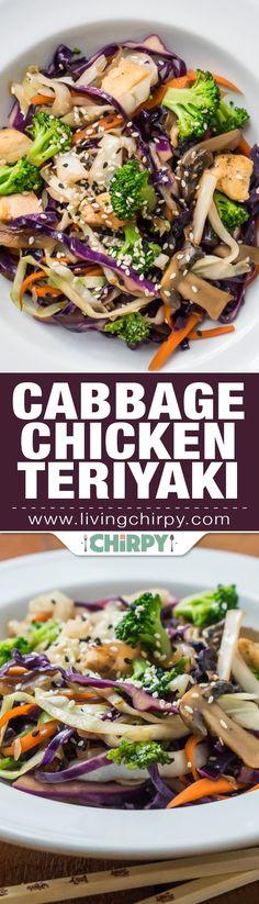 Cabbage Chicken Teriyaki