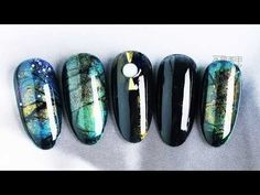 第1085期:琥珀之蓝 Nail Art Designs - YouTube