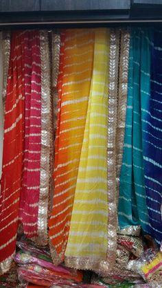 Pakistan Fashion, India Fashion, Ethnic Fashion, Women's Fashion, Lehenga Designs, Kurta Designs, Blouse Designs, Bandhani Saree, Indian Salwar Kameez