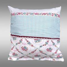 Povlak na polštář PROVENCE Elisa zelená Provence, Bed Pillows, Pillow Cases, Home, Pillows, Ad Home, Homes, Haus, Aix En Provence