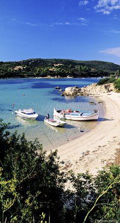 Plage de Tizzano en Corse