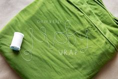 DIY moby wrap using