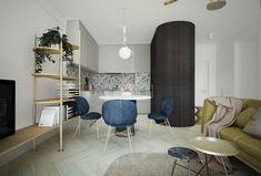 Jak wykończyć ścianę w kuchni z drewnianym blatem - dobieramy idealne płytki | IH - Internity Home