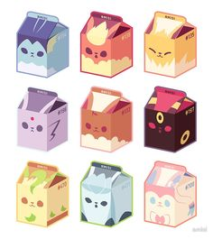 Eevee -- ideas for guest favors.