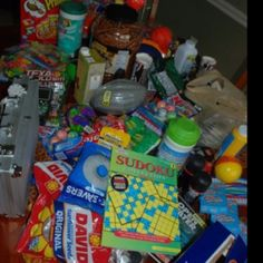 Deployment care package ideas