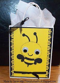 Create A Critter ~ Gift bag #simplybysarah
