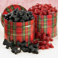 Black Licorice Scottie Dogs