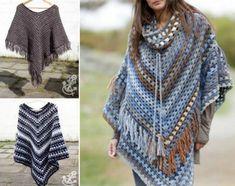 Crochet Ponchos Free Pattern