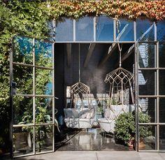 Design#5000366: Hängesessel für zwei von roberti rattan, befestigt an einem .... Gartenmobel Ideen Innen