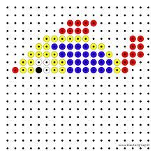 Afbeeldingsresultaat voor kralenplank spiegelen