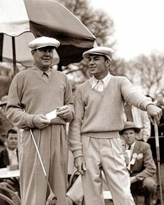Ben Hogan Byron Nelson - The 31 Greatest Ben Hogan Photos Of All Time - Photos - Golf.com