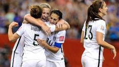 U.S. defeats top-ranked Germany 2-0 to progress to Women's World Cup Final Congrats ladies! #usa#worldcup http://trib.in/1C70UkC