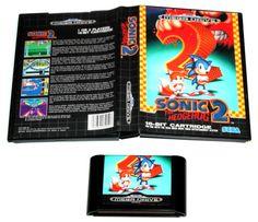 Sega Mega Drive Spiel Sonic The Hedgehog 2 in OVP