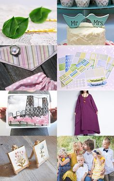 Lovely spring gifts by Katrin on Etsy--Pinned with #spring #handmade #etsy TreasuryPin.com