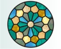 Double Dresden Stained Glass Pattern