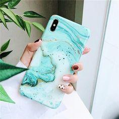 Glossy Granite - Soft iPhone Case
