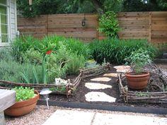herb garden path | The Grackle: Garden Bloggers Design Workshop - Paths and Walkways