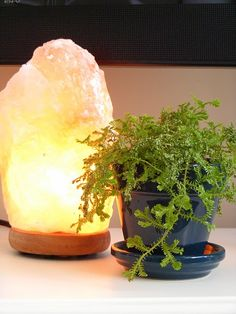 Salt lamp - so many benefits of this beauty!