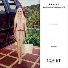 Río de janeiro Gondola ride- jet set- Covet fashion by erika boveri