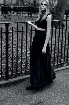 Cara Delevingne by Alasdair McLellan for Industrie #6