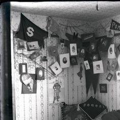 Student residence interior, Pomona College :: Boynton Collection of ...