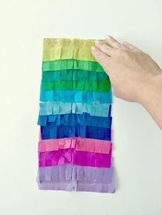 Easy paper bag pinat