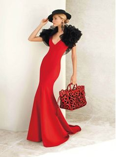 Special Evening Dress - love this red!
