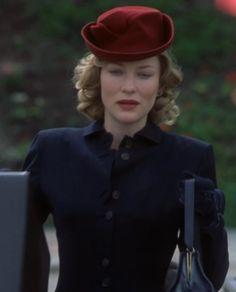 Cate Blanchett - red hat, front movie: CHARLOTTE GREY