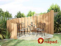 A máte chládok a pokoj od susedov: Perfektné nápady na posedenie v záhrade, ktoré si viete zhotoviť aj u vás!