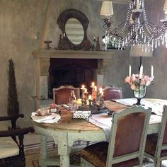 Dining room | french | country | interiors
