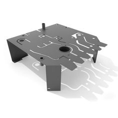 P.C.B. Coffee Table Grey, 570€, now featured on Fab.
