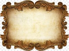 Graphy Frames Scrapbooking, old paper free png Oil Painting Frames, Mirror Painting, Vintage Picture Frames, Vintage Frames, Clothes Pin Frame, Vintage Wedding Save The Dates, Molduras Vintage, Picture Frame Ornaments, Old Paper Background