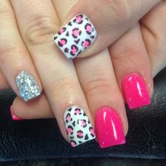 Love the pink leopard print