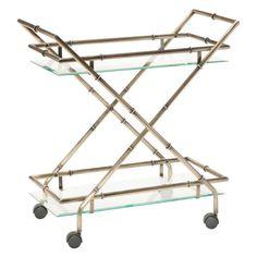 OSP Designs Lanai Serving Cart - LANA4172-AB