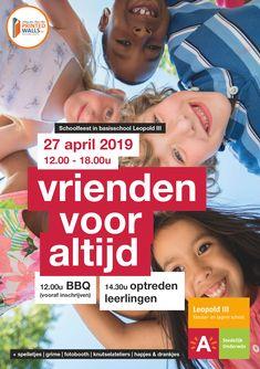 Affiche schoolfeest 27 april 2019 Event Posters