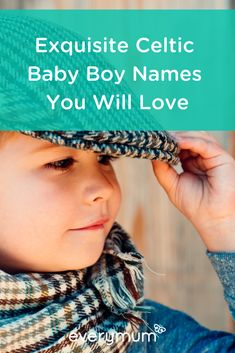 Are you looking for the perfect name for your baby? Then why not take inspiration from Ireland and Scotland, by using an exquisite Celtic name? Read on for some of our favourite Celtic Irish names for baby boys - striaght from the heart of Ireland. Celtic Baby Boy Names, Celtic Names, Irish Baby Names, Baby Girl Names, Baby Boys, Vintage Baby Names, Unique Baby Names, Celebrity Baby Names, Celebrity Babies