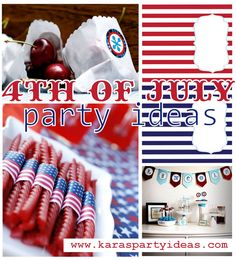 4th of july party idea roundup | | Kara's Party Ideas