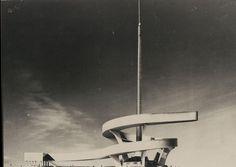 """""""Palazzo dell'acqua e della luce"""", a never built project by Pier Luigi Nervi for EUR district, in Rome (1940)"""