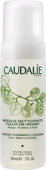 Caudalie Instant Foaming Cleanser 5 oz by Caudalie. $26.10. Gentle, botanical-rich formula. Ideal for all skin types, especially dry and sensitive. Cleanses skin without stripping vital oils. Soap-free formula won't dry or irritate. Unique liquid-to-foam cleanser. What it is:A soap-free liquid cleanser that transforms into an airy foam for a pleasurable, gentle cleansing experience.What it is formulated to do:A naturally effective blend of grape extracts, sage, and chamomile...