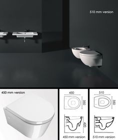 Luxury suppliers of compact toilets in the latest Italian styling. Ideal for space saving bathrooms, small ensuites & cloakrooms. Toilet For Small Bathroom, Attic Bathroom, Bathroom Design Small, Bathrooms, Space Saving Bathroom, Wall Hung Toilet, Compact, Toilets, Closet