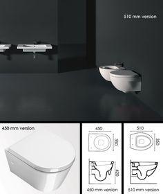 Compact Wall Hung Toilet (20B)