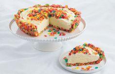 Crunchy Crust Ice Cream Pie - Fruity Pebbles Recipes   Post Foods