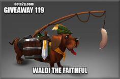 Giveaway 119 - Waldi the Faithful