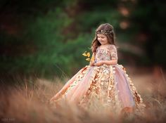 Frosted Autumn Gown / http://www.deerpearlflowers.com/flower-girl-dresses-shops/4/