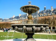 The Place des Vosges is the oldest planned square in Paris and one of the finest in the city. It is located in the Marais district, and it straddles the dividing-line between the 3rd and 4th arrondissements of Paris. Wikipedia